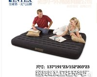 Wholesale INTEX honeycomb structure column Double flocking inflatable mattress air bed inflatable