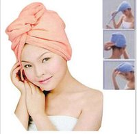 Wholesale Dry hair cap dry hair cap times super absorbent dry hair towel