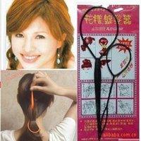 Cheap Magic Hair Styling Hair Ring Hairpins Hairdisk Meatball Head Clip hair accessories for women Quick Messy Bun Updo Hairdisk Hair Jewelry