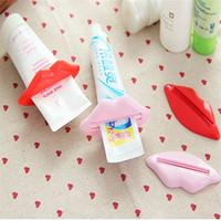 Wholesale Creative partner Korean multi purpose multi squeezer lips toothpaste dispenser installed