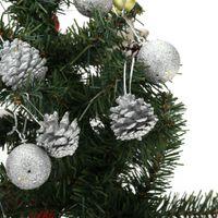 pine cones - 12pcs cm Round Christmas Balls Pine Cones Tree Baubles Light Decoration Ornaments Glitter Decor H13545