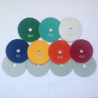 Wholesale Diamond polishing pads lixas granito disc sander pad inch wet mm thick pieces set granite stone marble tile concrete polishing PX1