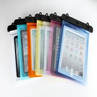 Funda impermeable de la cubierta del caso de la bolsa de la cubierta para el ipad Air 2 para la lengüeta 4 de la galaxia de Samsung 9.7-10.2 PC de la tableta de la pulgada
