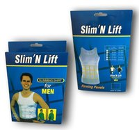 Cheap Men's Slimming Body Shaper Belly Fatty Underwear Vest Shirt Corset Compression shapewear corset Training Cincher Underbust Corset new