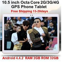Wholesale 10 quot tablet MTK6592 Octa Core G G Tablet phone GB GB Dual SIM MP MP Android Bluetooth GPS Tablet PC