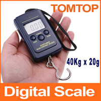 Cheap 20g-40Kg Digital Hanging Luggage Fishing Weight Scale kitchen Scales cooking tools electronic 2014 new models