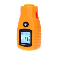 Wholesale Non contact Digital Infrared Thermometer Temperature Meter Tester LCD IR Laser Centigrade Fahrenheit