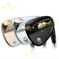 Wholesale 2015 new golf clubs brand golf wedges champagne color degree set golf clubs wedge Steel Shaft black Golf wedges
