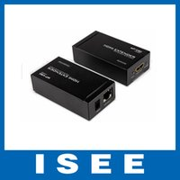 Wholesale Christmas M HDMI Extender RJ Support HDMI standard and P HD Resolution