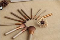 box light - 2015 new Makeup Brushes Nude3 Pieces Professional Cosmetic Brush Sets Makeup Brushes Sets with Iron Box