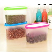 alps products - Oval Storage Box Jar Container For Food Vasilhas De Cozinha Plastic Kitchen Canisters Storage Products Kitchen Accessories