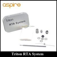 aspire fan - Authentic Aspire Triton RTA System DIY Resistance Tool Kit for RDA Fans RBA Coils DHL EMS Free