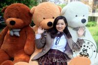 valentine bear plush bear stuffed bear - Brand New FEET TEDDY BEAR STUFFED LIGHT BROWN GIANT JUMBO quot size cm Valentine s day gifts