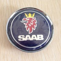 Wholesale MM SAAB Sticker Emblem Wheel Center Caps Hub Cap Wheel Covers