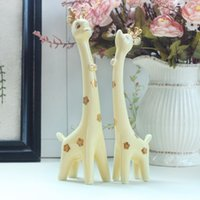 Wholesale A couple of deer ornaments wedding gift Trinket Home Furnishing fashion creative ceramic wedding gifts