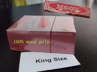 smoking paper - 60 Packs kingsize Moon Red Smoking Rolling Paper