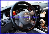 Wholesale Sizes Colors Leather DIY Car Steering Wheel Cover racing steering wheel High quality