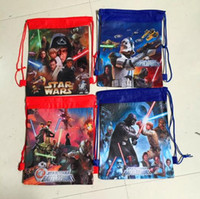 Wholesale NEW arrive STAR WARS drawstring bags Despicable Me backpacks children s school bags
