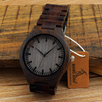 accept band - Wooden watches ebony wood band japanese miyota movement quartz watch for men wristwatches unisex with gift box accept customization OEM