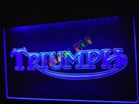 b service - LG051 b Triumph Motorcycles Services Repairs Neon Sign home decor shop crafts led sign
