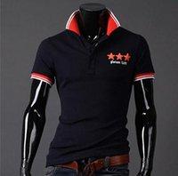 Cheap 2014 New men short sleeve polo shirt 3 colors size M-XXL Good quality MTP059