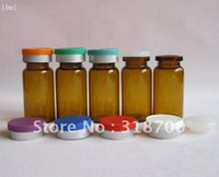 amber essence - DHL ml clear amber glass vial with flip off cap sample vial essence oil glass bottle