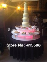 Wholesale Stainless Steel CM Tier Commercial Chocolate Fountain for party wedding events Celebrating Month Warranty