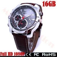 Wholesale Full HD P IR Night Vision WristWatch Mini DVR Hidden Spy Camera Recording Watches Mini Cameras Waterproof G