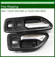 accord door handle - New Black Inside Door Handle Fit For Honda Accord Front Pair Left Right order lt no track