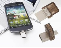 Wholesale Real Original Full Smart phone GB USB Flash drive OTG USB Flash Drive Micro USB Flash Drive Smart Phone U Disk for Android