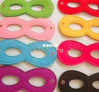 Wholesale High Quality Various Colors Superhero Kids Eyes Masks Masquerade Masks Party Cosply Eye Masks Eye Shades for Superhero Capes