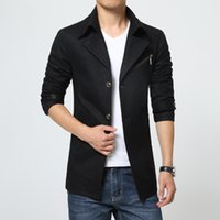 army pea coat - Fall New fashion Down amp parkas winter wool coat men manteau homme trench coat mens pea coat casaco masculino down jacket xxxxl