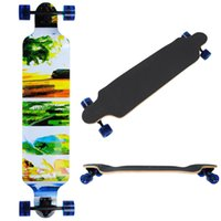 Wholesale New Skateboard Cruiser Through downhill Complete Professional quot X quot Longboard