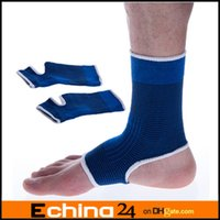 ankle brace - 2 X Ankle Pad Protection Elastic Brace Guard Foot Ankle Support Sports Gym Sports Protective Belt Bandages