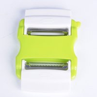 Wholesale Kitchen Peeler Durable Plastic Stainless Steel Vegetable Peelers Convenient Rotatable Scalable