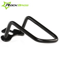 Wholesale ROCKBROS Aluminum Alloy Mech Rear Bicycle Derailleur Protector Rack Transmission For MTB Bikes Road Bikes Folding Bicycle