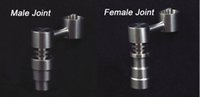 Wholesale T four fuctions female Male domeless titanium nail for both Joint MM and MM