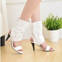 Wholesale Big Size Sexy Casual Thin High Heels Sandal For Women Sexy Casual Peep Toe Summer Dress Shoes For Women Sexy Sandal