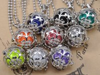angels bell - Hot Selling Mexician Engelsrufer Silver Angel Caller Bell Ball Harmony Ball Seal Charm Pendant With Random Ball