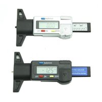 auto brake shoes - Car Auto Digital LCD Display Depth Gauge Tyre Tread Brake Pad Shoe Wear mm