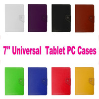 Wholesale Universal PU PC Case Cover For Coopad S ASUS FonePad Lenovo Tablet PC MID Samsung Galaxy Tab Q Tab4 iPad DELL Venue
