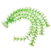 Wholesale Artificial Green Plant Artificial Grass for Fish Tank Aquarium Ornament Decor Plastic Water Decor