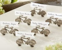 baby bicycle - quot Le Tour quot Bicycle Place Card Photo Holder Set of Wedding Favors Wedding Gifts Party Favors baby shower wedding giveaway