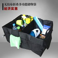 auto supplies store - 2014 hot car supplies non woven folding tool box trunk tool bag multifunctional storage bags car Auto store content box