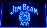 Wholesale LS012 b Jim Beer Bar Neon Light Sign