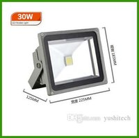Wholesale AC85 V led flood light W W W W W Warm white Cool white RGB Remote Control led floodlight outdoor lighting