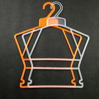 baby closets - Hot Sale Plastic Hangers for Clothes Children Kids Clothes Pegs Swimwear Trousers Pants Laundry Drying Rack Baby Hangers JE0152