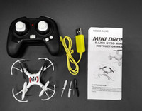 Wholesale New Hot Sale NB515 Pocket Drone G CH Axis Gyro Quadcopter With Switchable Controller RTF Remote Control Helicopter Toys