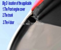 automotive door seals - SUV BIG D automotive sealing strip rubber seal special car seal article door windproof article seal stripsound insulation1PC M