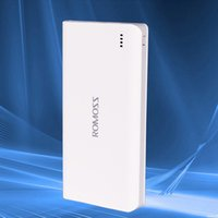 portable cell phone battery charger - 20000mAh Dual USB ROMOSS Portable Battery Charger Power Bank For Cell Phone